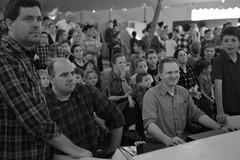 Manning the sound board (radargeek) Tags: homesteadheritage waco tx texas