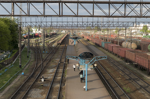 Baranovichi railway station, 04.05.2014.