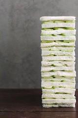 Do cut the crusts of your cucumber sandwiches when preparing them for afternoon tea. #tea #etiquette (The Royal Butler) Tags: etiquette tea