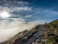 Castleton 261116-6057 (RobinD_UK) Tags: mam tor castleton peak district edale temperature inversion clouds