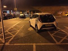 Hilarious Parking Skills! (Marc Sayce) Tags: hilarious parking skills bad sainsburys liphook hampshire toyota aygo