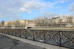 Padlocks on the Pont Neuf (harve64) Tags: paris france pont neuf padlocks