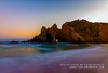 An evening rendezvous at Bigsur (rkpunnamraju) Tags: outdoor landscape longexposure beach bigsur sunset night sky water ocea california travel serene shore