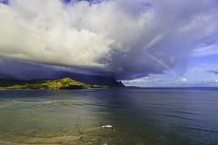 Hanalei Rainbow (mrubenstein01) Tags: ocean hawaii bay rainbow kauai tropical luxury hanalei stregis princeville stregisprinceville