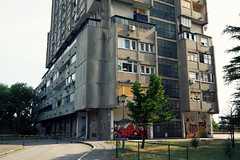 (pilot81) Tags: camera travel building architecture canon photography photographer serbia communist 7d belgrade residential ultrawide brutalist eastgate rudo uwa efs1022mmf3545usm