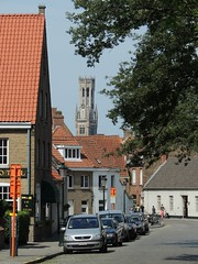 The Belfry of Bruges (GothPhil) Tags: street tower monument architecture buildings belgium brugge july belltower belfry historical bruges belfort 2015 oostmeers