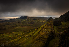 Trotternish (GenerationX) Tags: rain weather landscape evening scotland highlands rocks isleofskye unitedkingdom scottish neil gb barr trotternish landslip oldmanofstorr staffin quiraing rona flodigarry thestorr theprison soundofraasay staffinbay biodabuidhe isleofraasay beinnedra caolrona cuithraing creagalain trndairnis eileanfladday roundfold eileantigh kvirand