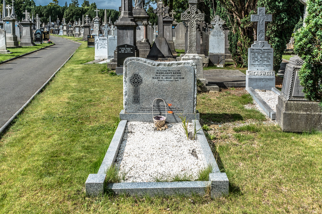 GLASNEVIN CEMETERY [MY FIRST DAY USING THE NEW SONY A7RMkII] REF-107426