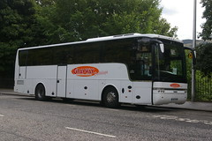 GRAYWAY COACHES WIGAN YJ57EYO (bobbyblack51) Tags: volvo edinburgh coaches wigan vanhool alizee 2015 b12b grayway yj57eyo