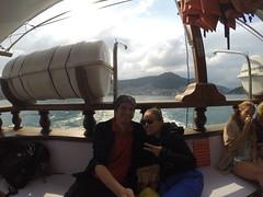 Photo de 14h - Sur le bateau pour Ilha Grande (Brésil) - 03.09.2014