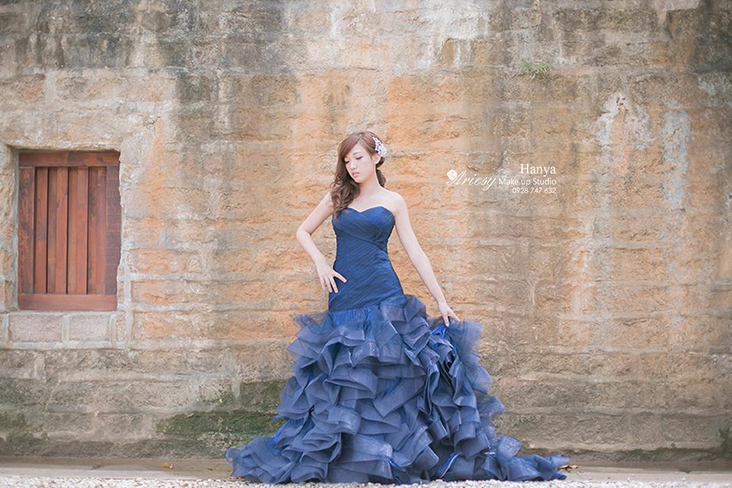 愛瑞思造型團隊,造型師Hanya,自助婚紗,Dream婚紗工坊,淡水滬尾砲台,關渡自然公園,新秘,新娘造型,新娘髮型