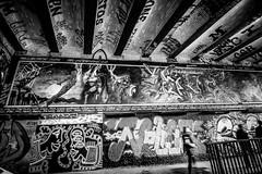 marval graffiti bw (Steve J Cottis) Tags: london art graffiti avengers marval leakestreet tokina1116mm28 nikond5300