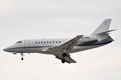 OE-HPH (LIAM J McMANUS - Manchester Airport Photostream) Tags: man manchester falcon gdk dassault egcc bizz falcon2000 df2 dassaultfalcon f2th oehph goldeckflug