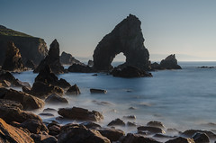 Crohy Sea Arch-3 (Philip Blair's Photos) Tags: ireland sea landscape nikon arch sigma ie 1770 donegal maghery dunglow crohy d7000 11015