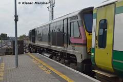 233 departs Portlaoise, 10/10/15 (hurricanemk1c) Tags: irish train gm rail railway trains enterprise railways irishrail 201 generalmotors 233 portlaoise 2015 emd iarnród éireann iarnródéireann 1300heustoncork