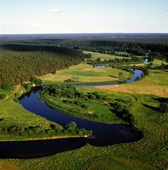 Lithuania - Merkys River © K Driskius