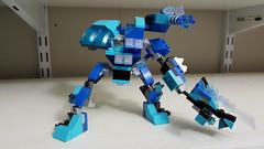 Lego Mixel Moc, series 2, Shiphead. (miketvas) Tags: robot lego series mech moc mixel mixels frosticons legomixelmoc