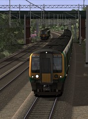 WCML Trent Valley - Chocolate Lime Commuting (onelimatwenty) Tags: train rail simulator sim wcml desiro trainsimulator trentvalley class350 londonmidland railworks westcoastmailline ts2015 ts2016