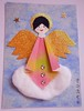 ATC1282 and 1283 - Christmas Angel on a Cloud (tengds) Tags: pink blue sky cloud white atc artisttradingcard angel stars gold wings halo rhinestones origamipaper artcard papercraft japanesepaper handmadecard chiyogami christmasangel japanesepaperdoll tengds