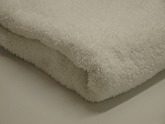 White towel (StockyPics) Tags: white corner towel clean cloth whitetowel copyrightfree nocopyright cc0 cleantowel