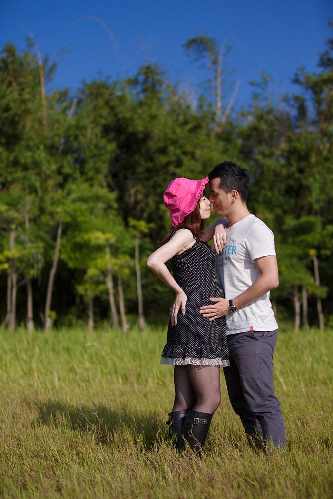 孕婦寫真,孕婦攝影,樹林孕婦,芒草孕婦,草原孕婦,Ajax&Far033