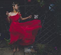 Christmas Spirit : PT I (elliftheartist) Tags: christmas selfportrait france art fairytale village surrealism fineart surreal newyearseve conceptual fairylights reddress newyearsday fineartphotography surrealphotography conceptualphotography vintagegown chozeau elliftheartist