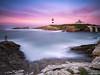 Isla Pancha (bertigarcas) Tags: españa lighthouse seascape marina landscape faro atardecer paisaje olympus galicia lugo zuiko omd 918 ribadeo em5 islapancha