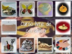 2 - Ceramica curso livre com Sueli Finoto (Art, Craft e Cerâmica) Tags: ceramica colagem artes madeira gesso pinturas artesanatos cursos garrafas bijuterias suelifinoto