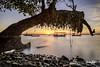 beyond (Azam Alwi) Tags: longexposure seascape sunrise landscape malaysia slowshutter fujifilm penang malaysian fishermanboat leefilters semulajadi fujifilmxt1