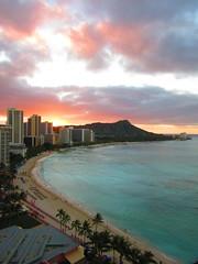 Waikiki Beach - January 2016 (2) (Jimmy - Home now) Tags: hawaii holidays pacific waikiki pacificocean diamondhead honolulu waikikibeach pacificrim pacifics