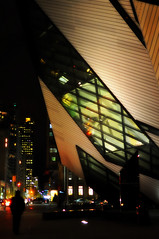 20121113 Another day gone (zumakuma) Tags: road street toronto night rom royalontariomuseum bloorstreet blipfoto