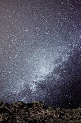 Montain under the Milky Way (.Nico.N.) Tags: montain montagne etoiles stars milky way