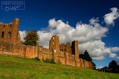 Kenilworth Castle (Warwickshire,UK) (Diego Shruberry) Tags: castle castles ruines nature bluesky clouds landscape uk unitedkingdom warwickshire kenilworth autumn history british