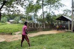 H504_3560 (bandashing) Tags: ahmedhousing nayabazar wall street sylhet manchester england bangladesh bandashing aoa socialdocumentary akhtarowaisahmed cricket lads play boys match