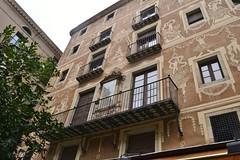CASA DEL GREMI DE REVENEDORS (Yeagov C) Tags: 2016 barcelona catalunya casa casadelgremiderevenedors gremiderevenedors gremi plaadelpi revenedors barroc seglexiv 1685 1781 esgrafiats