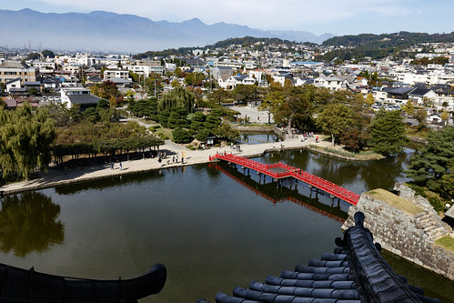 The view from Matsumoto Castle