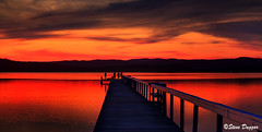 0S1A5089enthuse (Steve Daggar) Tags: longjetty sunset gosford nswcentralcoast wharf jetty lake reflection