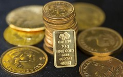 Gold extends features after U.S. durables items knowledge disappoints (majjed2008) Tags: after data disappoints durables extends gains gold goods us