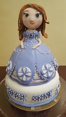 Sofia the First Cake (DC Cafe Roxas) Tags: princess sofia 1st first fondant birthday cake dc cafe roxas city divine cakes bakeshop liza divinagracia edible topper