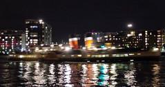 IMGP6290 (mattbuck4950) Tags: england unitedkingdom europe london water rivers boats reflections pswaverley night riverthames londonboroughoftowerhamlets royalboroughofgreenwich camerapentaxk50 lenssigma18250mm 2016 paddlesteamers thamespath gbr