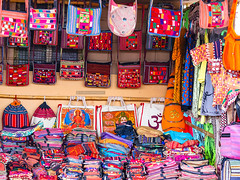 handbags 1 (VickVision) Tags: canon80d canon 80d canon80dwideangle 55250mm 55250mmisstm colours colourful streetphotography street photography photographer beauty streetsofindia india karnataka hampi travel tourist painttheroad road hats bags handbags design fashion