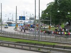Gteborgsvarvet, Hjalmar Brantingsgatan, Gteborg, 21 maj 2011 (1) (biketommy999) Tags: 2011 gteborg gteborgsvarvet sprvagn tram hisingen vsttrafik