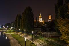 Gyr at night (Burjn Lszl) Tags: city gyr hungary night lights