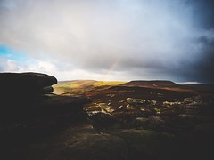 The Peak District (Chris-Green) Tags: vsco camerabag olympus landscape peaks england rainbow rocks
