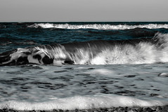expression (Valerie Guseva) Tags: sea seascape water waves wave experimental impression