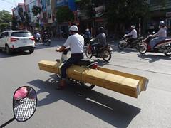 Saddle up (program monkey) Tags: traffic street straddle motorbike vietnam hanoi