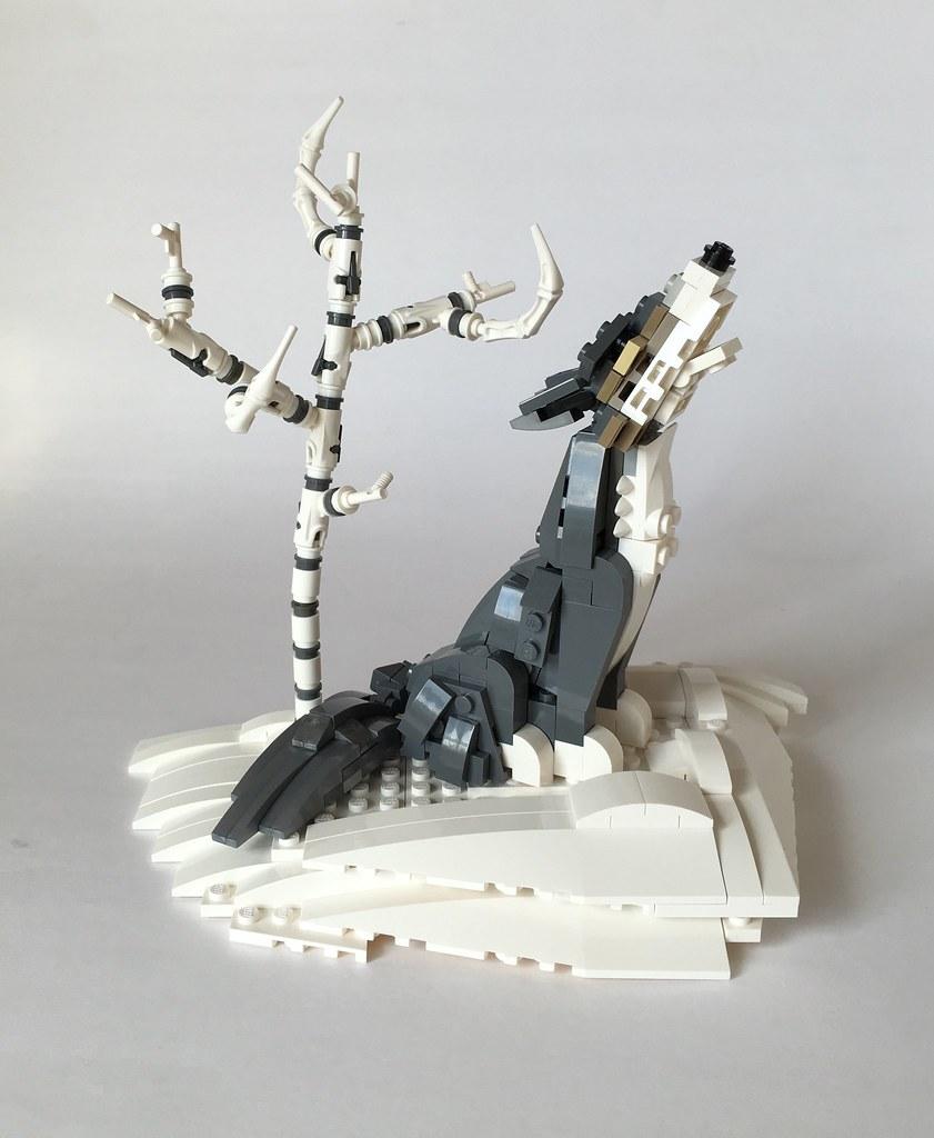 lego wolf