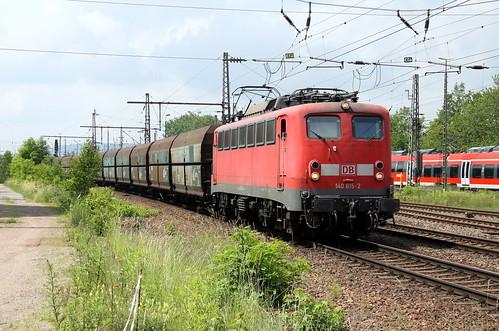 DB Schenker 140 815-2 Kohlezug, Trier-Nord