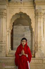 Sadhu Bila (S.M.Rafiq) Tags: sadhubila sadhobila sukkur women red architecture arches arch sindh pakistan hindu religion smrafiq asia