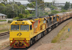 3BM7 - Wyee (Driver Rod) Tags: aurizon freight nsw train intermodal melbourne brisbane lakemacquarie wyee